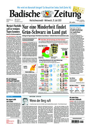Badische Zeitung - Hochschwarzwald (21.07.2021)