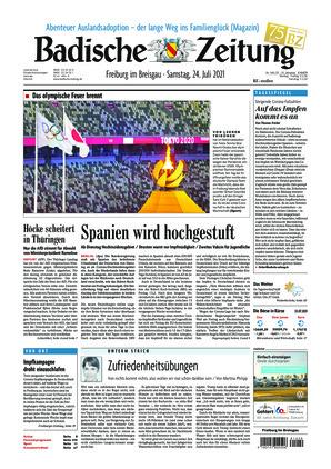 Badische Zeitung - Freiburg im Breisgau (24.07.2021)