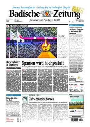 Badische Zeitung - Hochschwarzwald (24.07.2021)