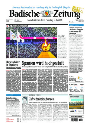 Badische Zeitung - Lörrach/Weil am Rhein (24.07.2021)