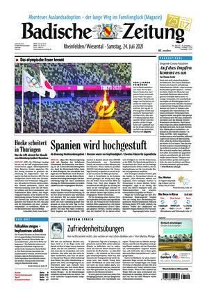Badische Zeitung - Rheinfelden/Wiesental (24.07.2021)
