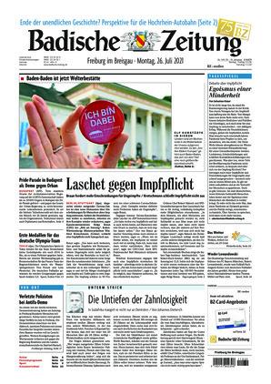 Badische Zeitung - Freiburg im Breisgau (26.07.2021)