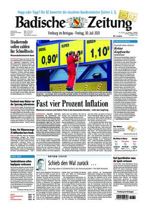 Badische Zeitung - Freiburg im Breisgau (30.07.2021)