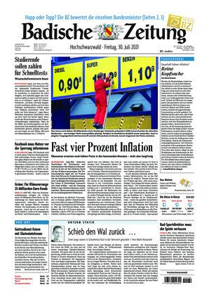 Badische Zeitung - Hochschwarzwald (30.07.2021)