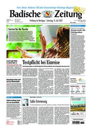 Badische Zeitung - Freiburg im Breisgau (31.07.2021)