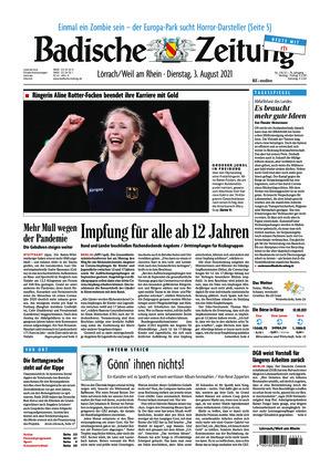 Badische Zeitung - Lörrach/Weil am Rhein (03.08.2021)