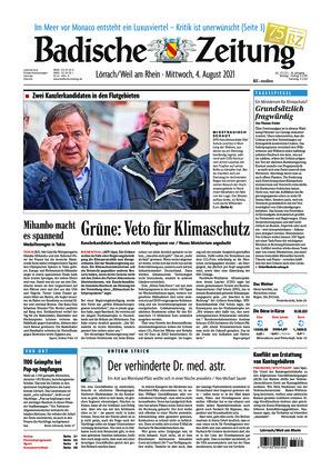 Badische Zeitung - Lörrach/Weil am Rhein (04.08.2021)