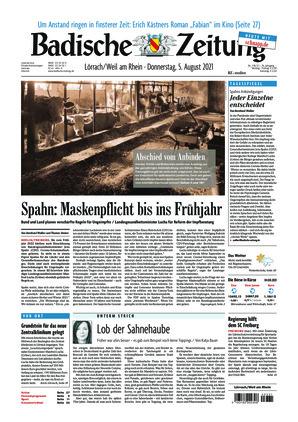 Badische Zeitung - Lörrach/Weil am Rhein (05.08.2021)