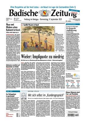 Badische Zeitung - Freiburg im Breisgau (09.09.2021)