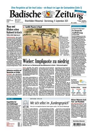 Badische Zeitung - Rheinfelden/Wiesental (09.09.2021)