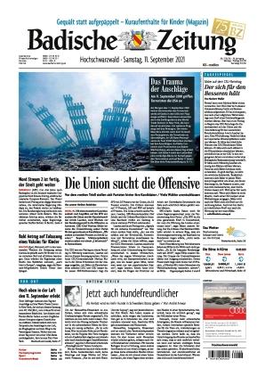 Badische Zeitung - Hochschwarzwald (11.09.2021)