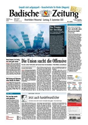 Badische Zeitung - Rheinfelden/Wiesental (11.09.2021)