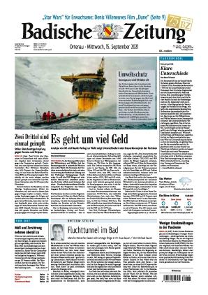 Badische Zeitung - Ortenau (15.09.2021)