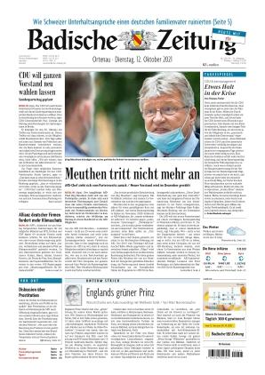 Badische Zeitung - Ortenau (12.10.2021)