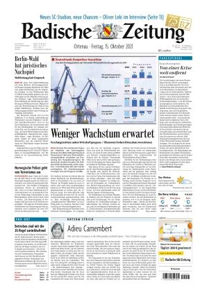 Badische Zeitung - Ortenau (15.10.2021)