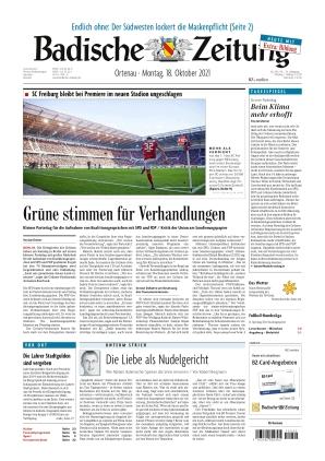 Badische Zeitung - Ortenau (18.10.2021)