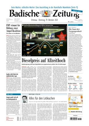 Badische Zeitung - Ortenau (19.10.2021)