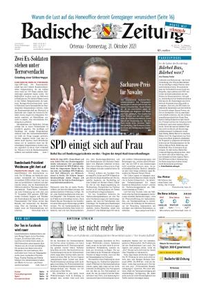 Badische Zeitung - Ortenau (21.10.2021)