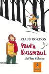 Paula Kussmaul tief im Schnee