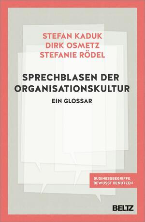 Sprechblasen der Organisationskultur