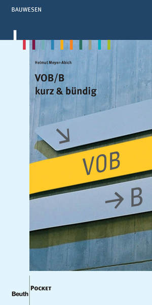 VOB/B kurz & bündig