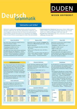 Wissen griffbereit - Deutsch: Grammatik