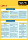 Wissen griffbereit - Latein: Satzlehre und Grammatik