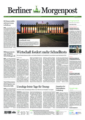 Berliner Morgenpost (11.01.2021)
