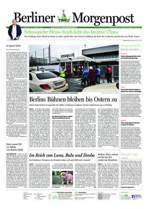 Berliner Morgenpost (15.01.2021)