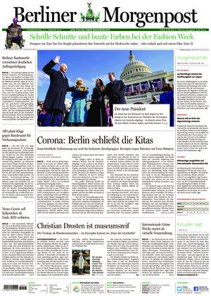 Berliner Morgenpost (21.01.2021)