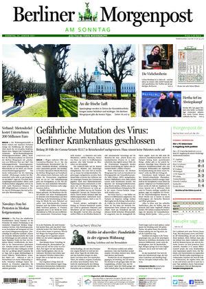 Berliner Morgenpost (24.01.2021)