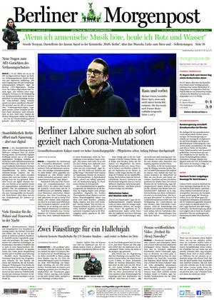 Berliner Morgenpost (25.01.2021)