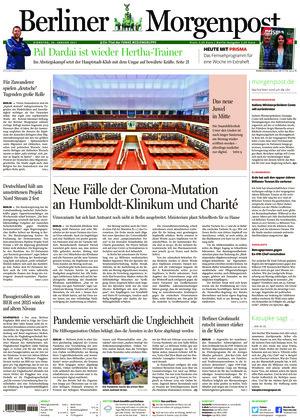 Berliner Morgenpost (26.01.2021)
