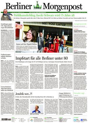 Berliner Morgenpost (26.02.2021)
