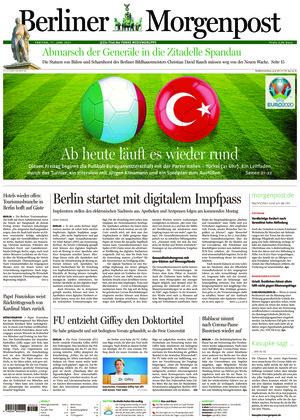 Berliner Morgenpost (11.06.2021)