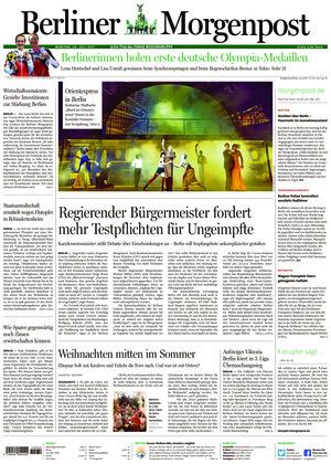 Berliner Morgenpost (26.07.2021)