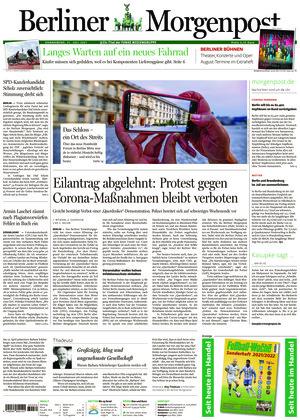 Berliner Morgenpost (31.07.2021)