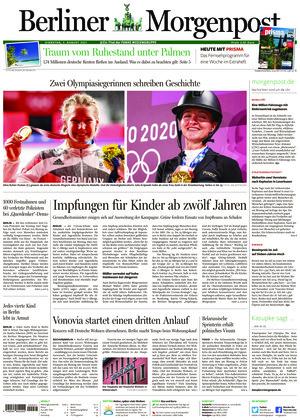 Berliner Morgenpost (03.08.2021)