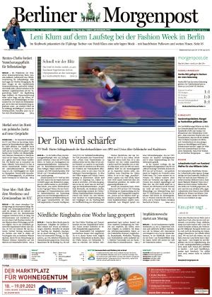 Berliner Morgenpost (13.09.2021)