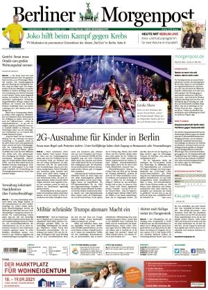 Berliner Morgenpost (16.09.2021)