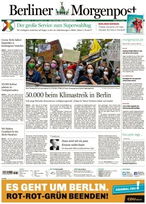 Berliner Morgenpost (25.09.2021)