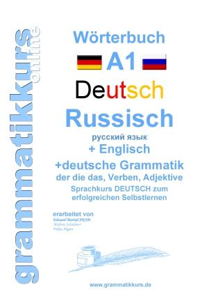 Wörterbuch Deutsch - Russisch - Englisch, Lektion 1