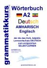 Wörterbuch Deutsch - Amharisch - Englisch - Niveau A2
