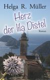 Herz der lila Distel