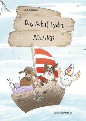 ¬Das¬ Schaf Lydia und das Meer