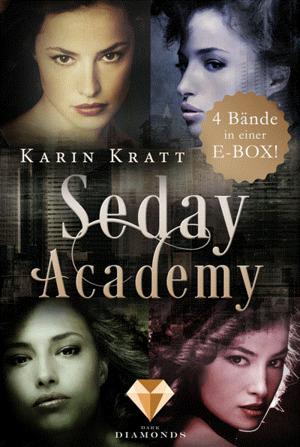 """Die E-Box der erfolgreichen Fantasy-Reihe """"Seday Academy"""": Band 1-4 (Seday Academy )"""