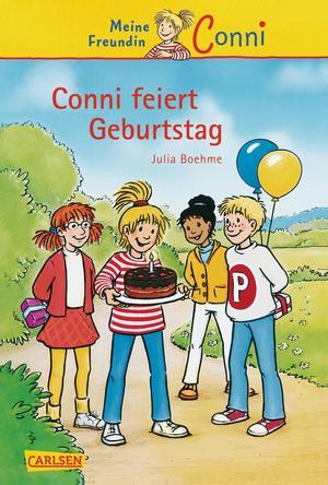 Conni-Erzählbände, Band 4: Conni feiert Geburtstag