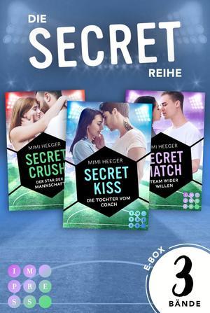 Die Sammelausgabe aller Bände der romantischen Sports-Romance-Serie! (Secret-Reihe)
