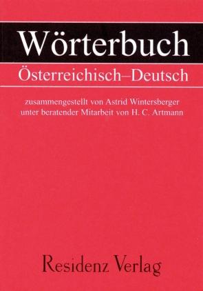 Österreichisch - Deutsches Wörterbuch