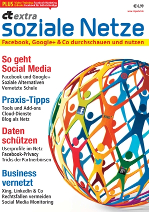 c't extra soziale Netze 02/2012